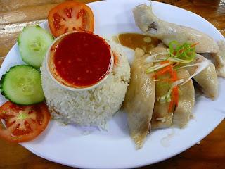 Masakan Cina - Nasi Hainam