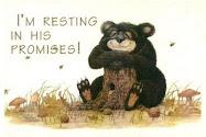 I'm resting