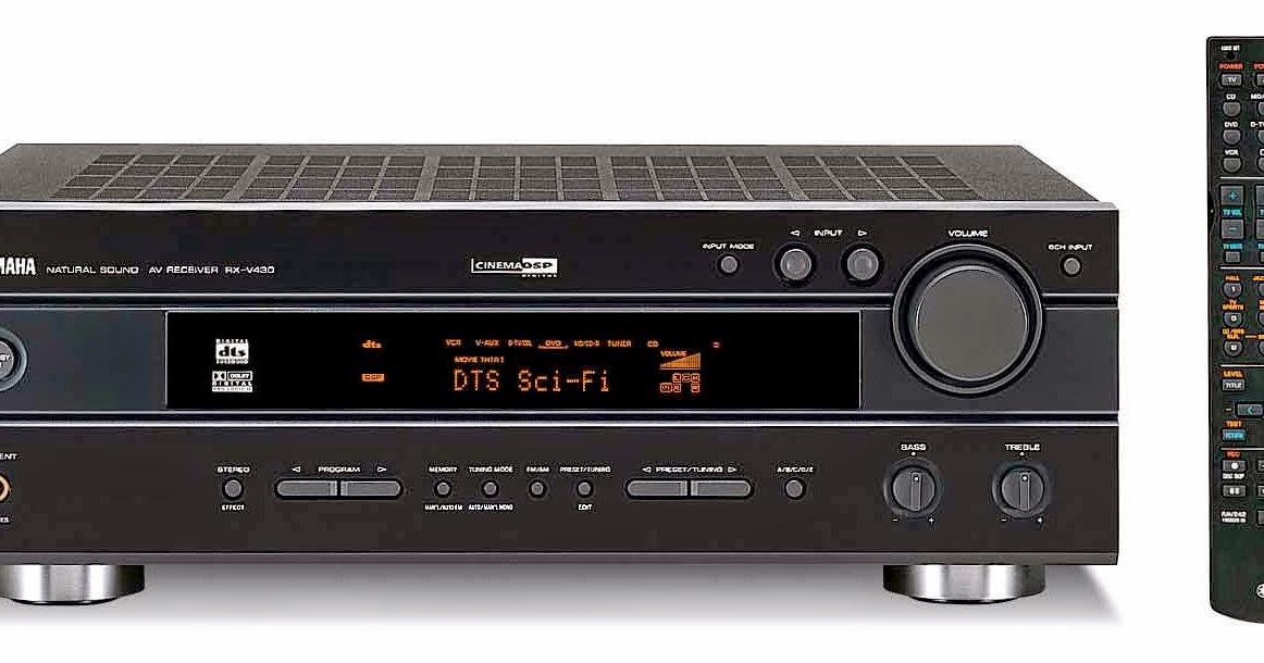 Yamaha rx v430 av receiver audiobaza for Yamaha receiver accessories
