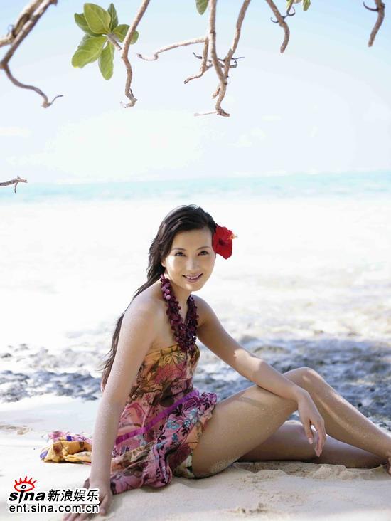 chen hao sexy beach bikini photo 02