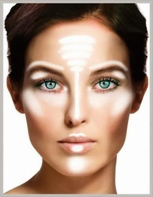 strobing a luz do teu rosto - dar mais luminosidade à pele do rosto