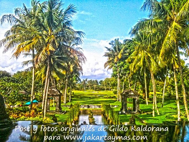 Jardines del hotel Hyatt Regency en Yogyakarta