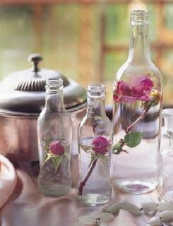 Centros de Mesa Reciclados para San Valentin, Ecoresponsabilidad para Fiestas