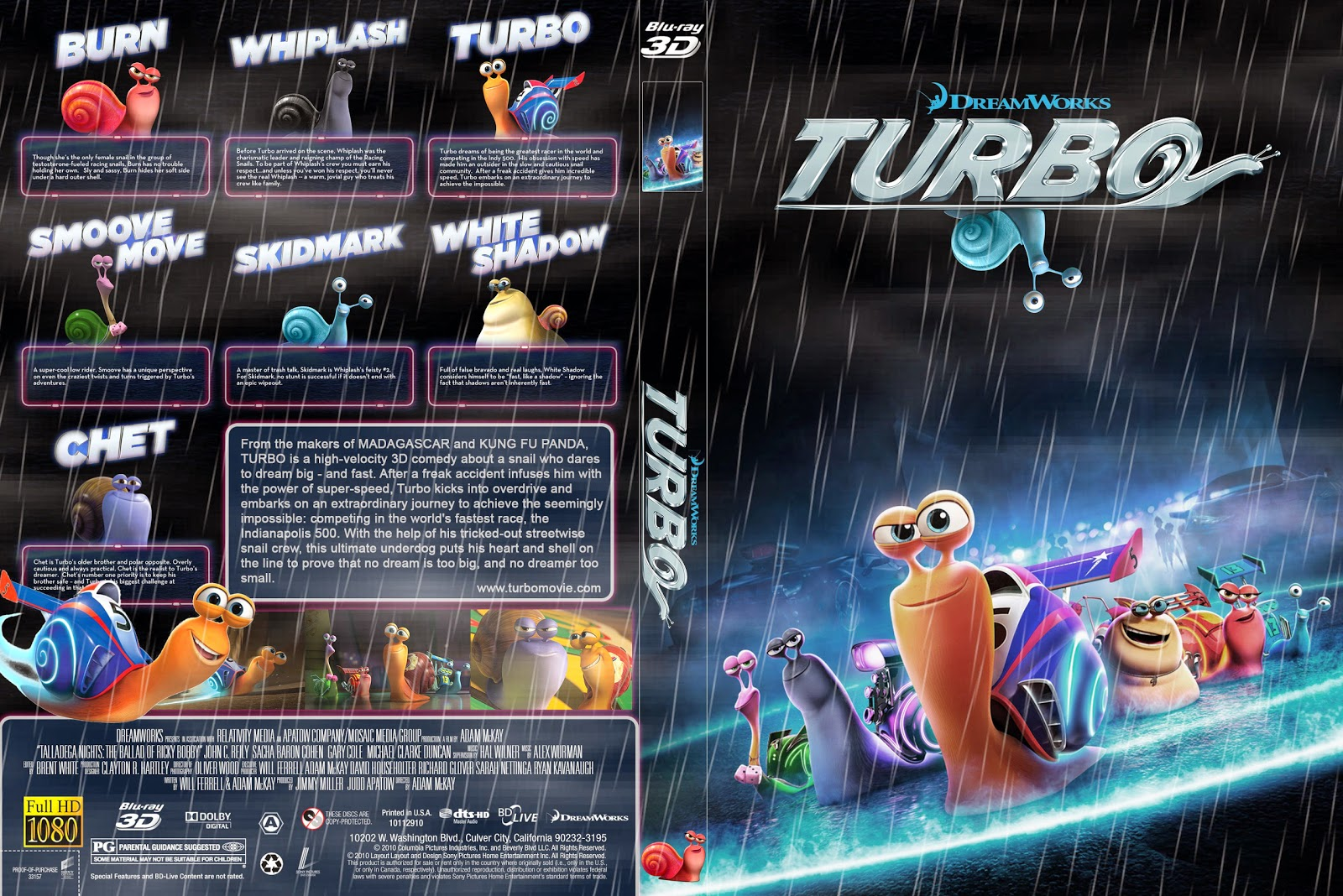 Capa Bluray Turbo