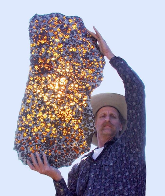 El hermoso meteorito de Fukang