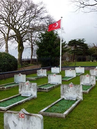 Cholera, Turkish burials, Turk Town, Gosport