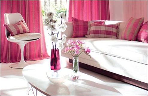 Kitchen Design Ideas: Romantic Style Living Room Design Ideas
