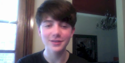 Greyson Chance Chatting with Hitz.FM Radio VIdeo