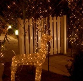 Decora el jard n para esta navidad decoguia tu gu a de for Adornos de navidad para jardin