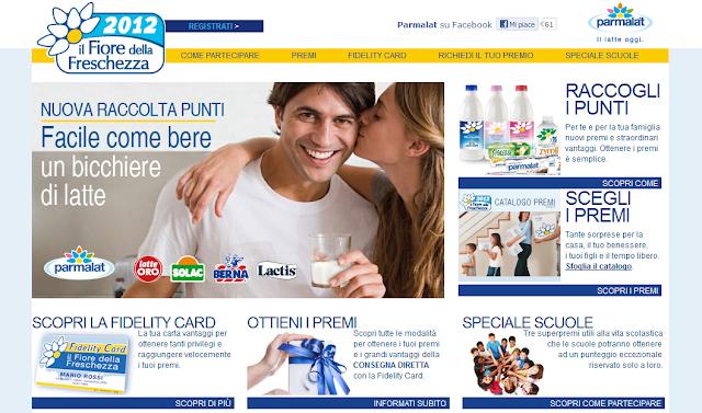 Raccolta punti Parmalat: Il Fiore della Freschezza 2012
