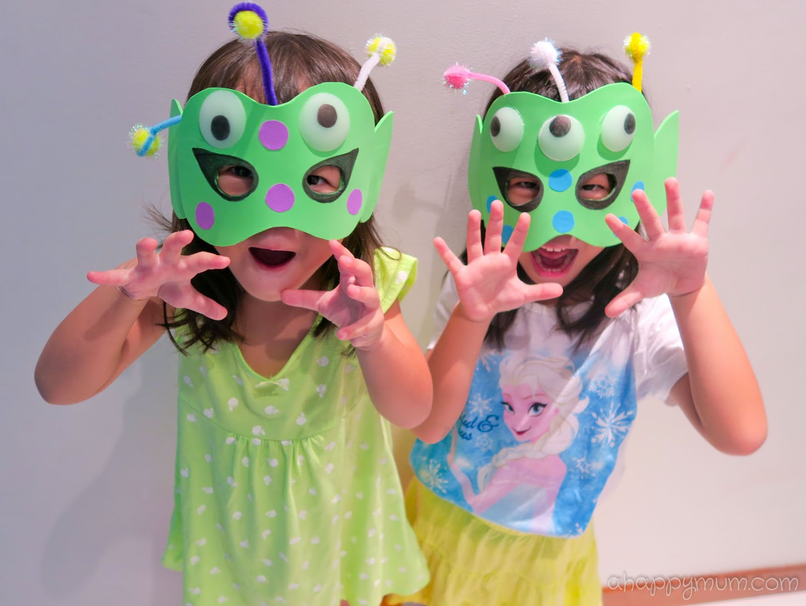 A happy mum singapore parenting blog for Mask craft for kids