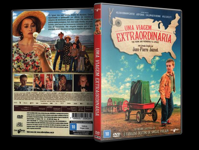 Capa DVD Uma Viagem Extraordinária
