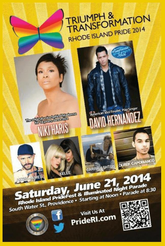 Rhode Island Pride headliners