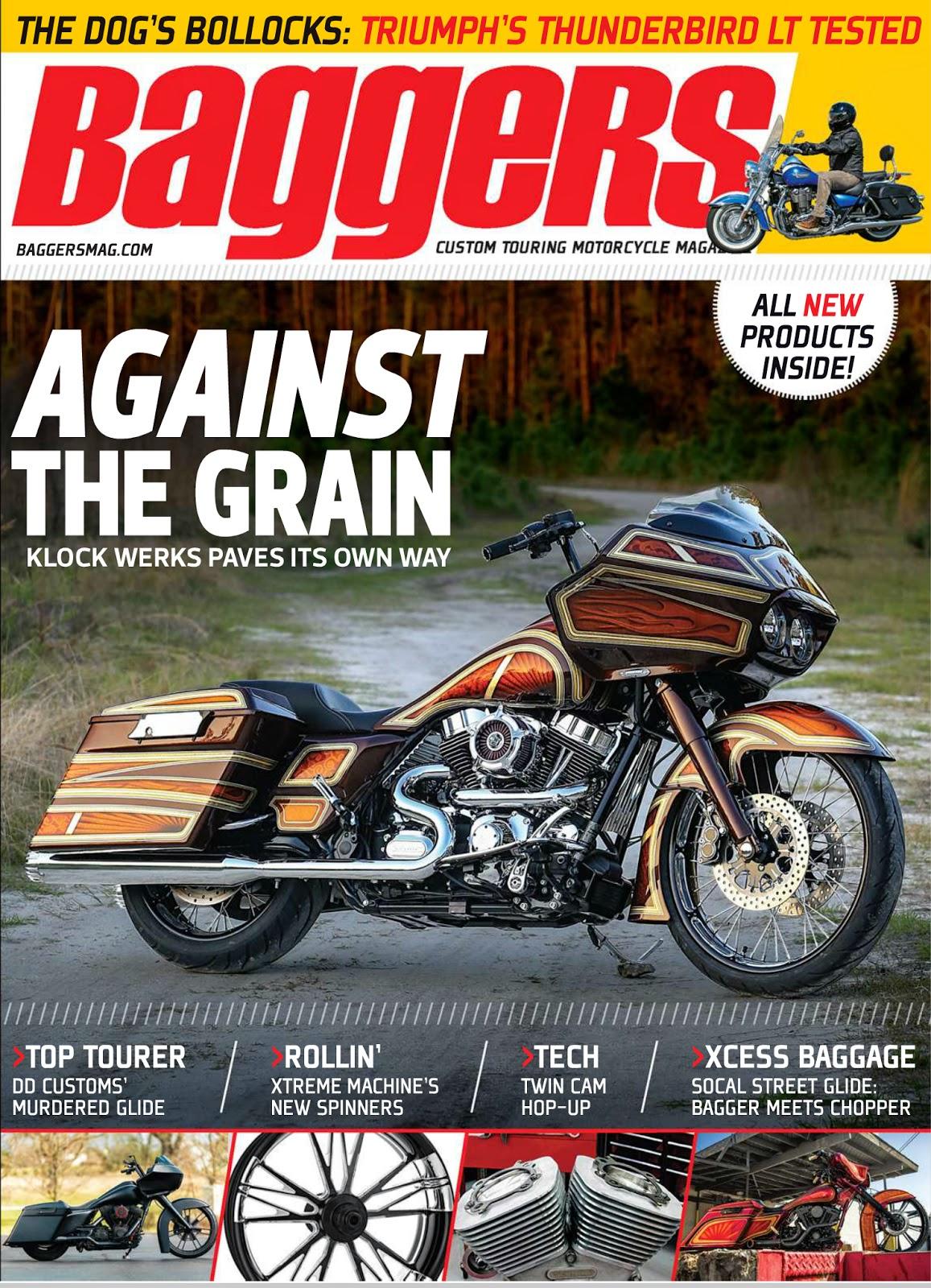 Brock Chobar Arizona Baddest Bagger Baggers Magazine Cover