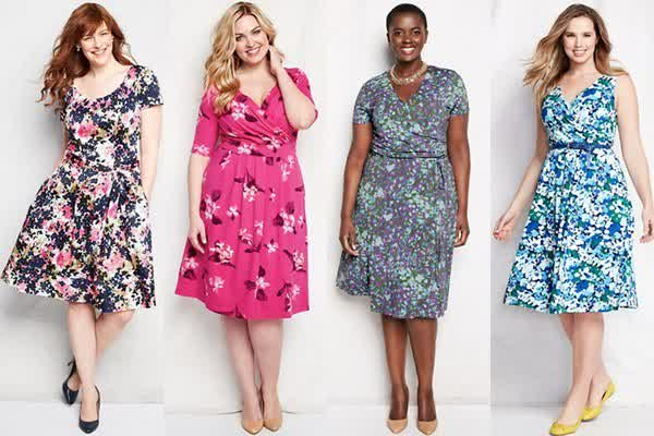 Plus Size Maxi Fl Print Summer Wedding Guest Dresses
