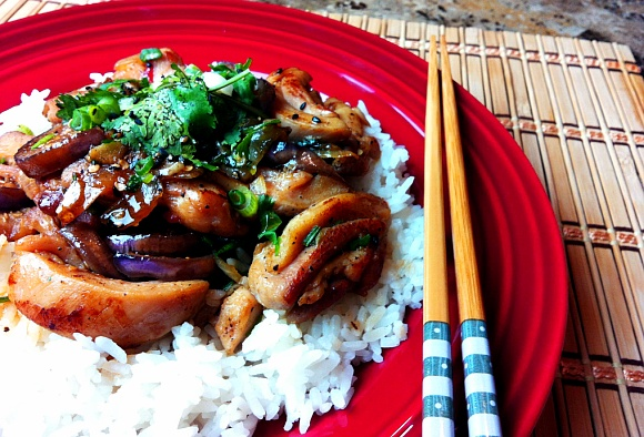 Chicken recipe spicy stir fry chicken with eggplant how to stir chicken recipe spicy stir fry chicken with eggplant how to stir fry chinese food forumfinder Images