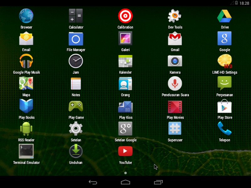 Android-x86 R1 4.4.2