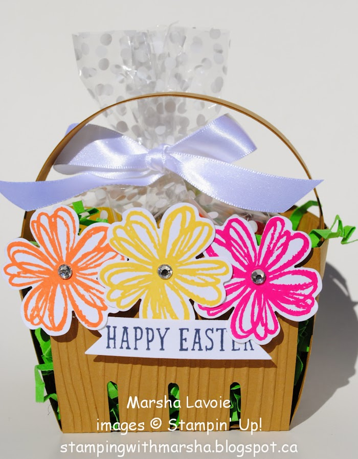 easter basket, berry basket