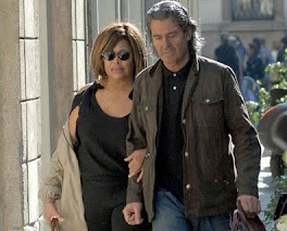 Tina Turner and hubby...