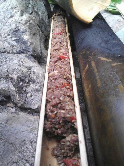 Độc đáo ẩm thực nấu ống lồ ô Kon Tum 7