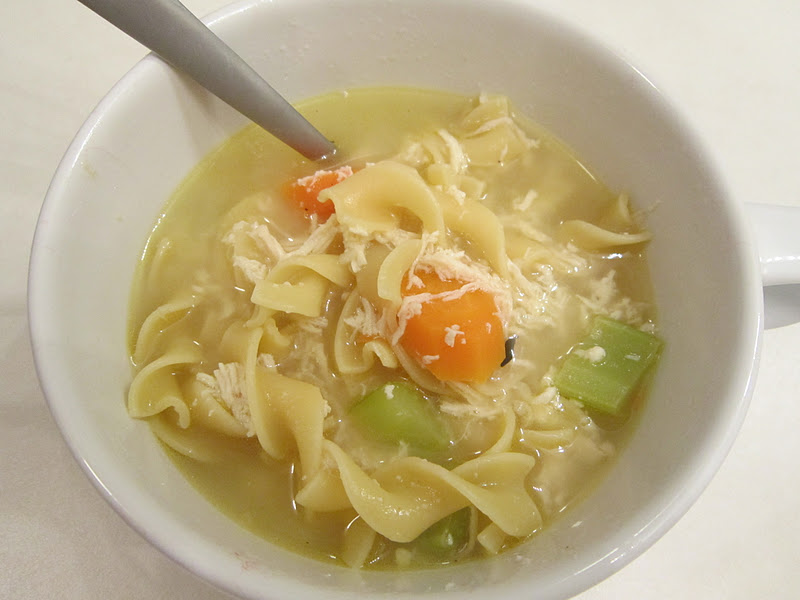 Sweet Beginnings: Chicken Noodle Soup