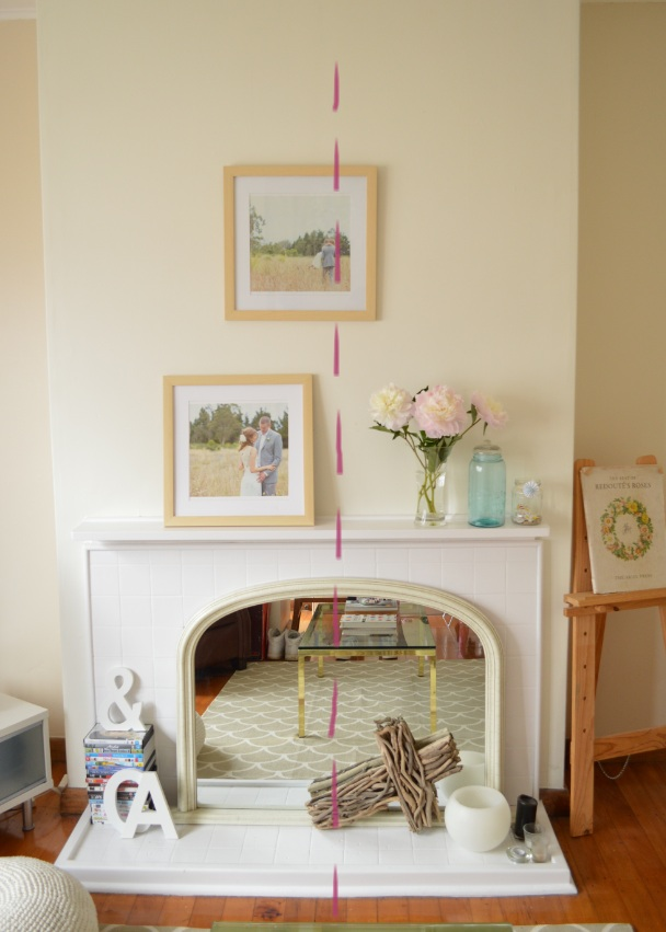 How to style a mantel/fireplace by Amy MacLeod
