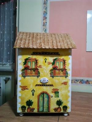 Gdm crea e decora la casa delle bambole - Donazione di una casa a un nipote ...