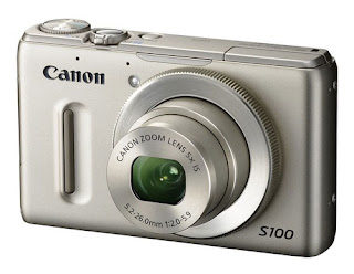 Canon PowerShot S100 Silver Front