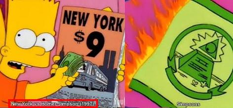 Updated Research: Illuminati The Simpsons:
