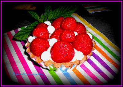 crostatine di fragole fresche e crema pasticcera