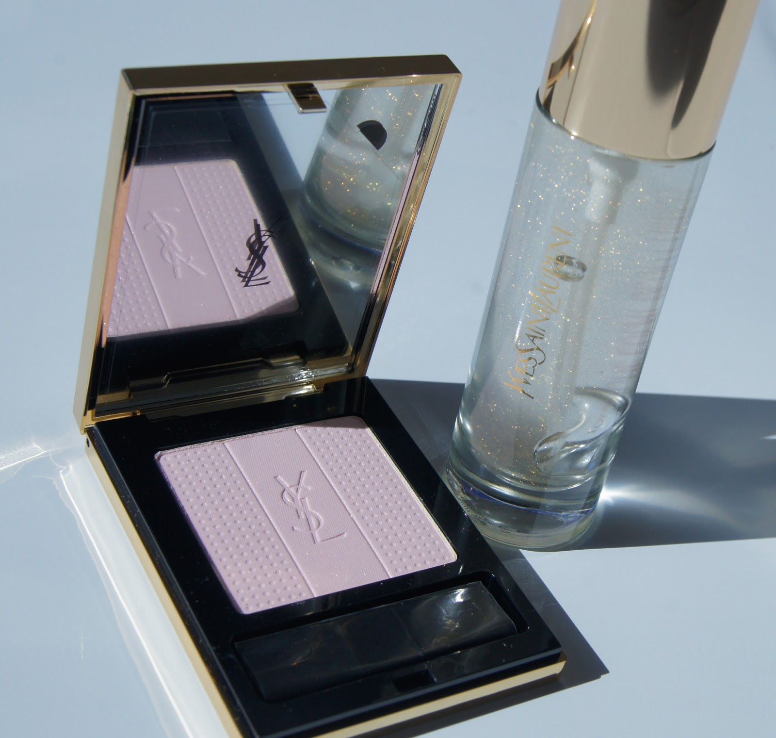 YSL Palette Lumiere De Jour and Touche Eclat Blur Primer review