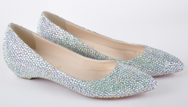 the ultimate selections of flat bridal shoes fashionable