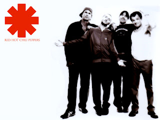 Red Hot Chili Peppers Logo Graphic Design HD Wallpaper