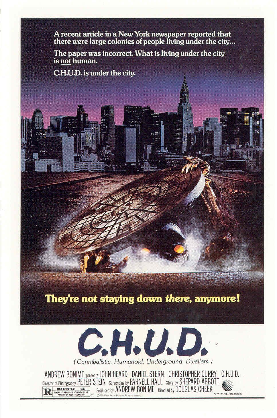 Movie Poster maximum overdrive movie poster : Sci-Fi 100: Movie #18: C.H.U.D.
