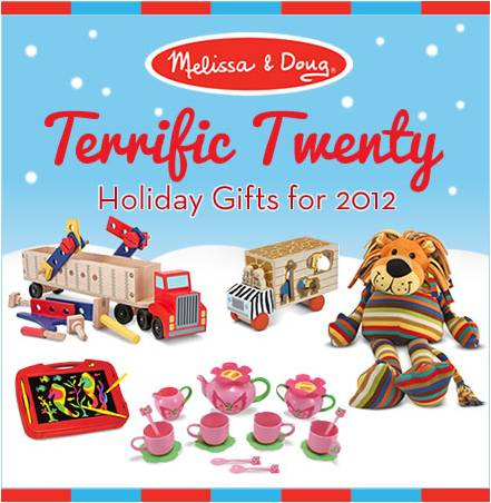Melissa and Doug Holiday Gift Guide