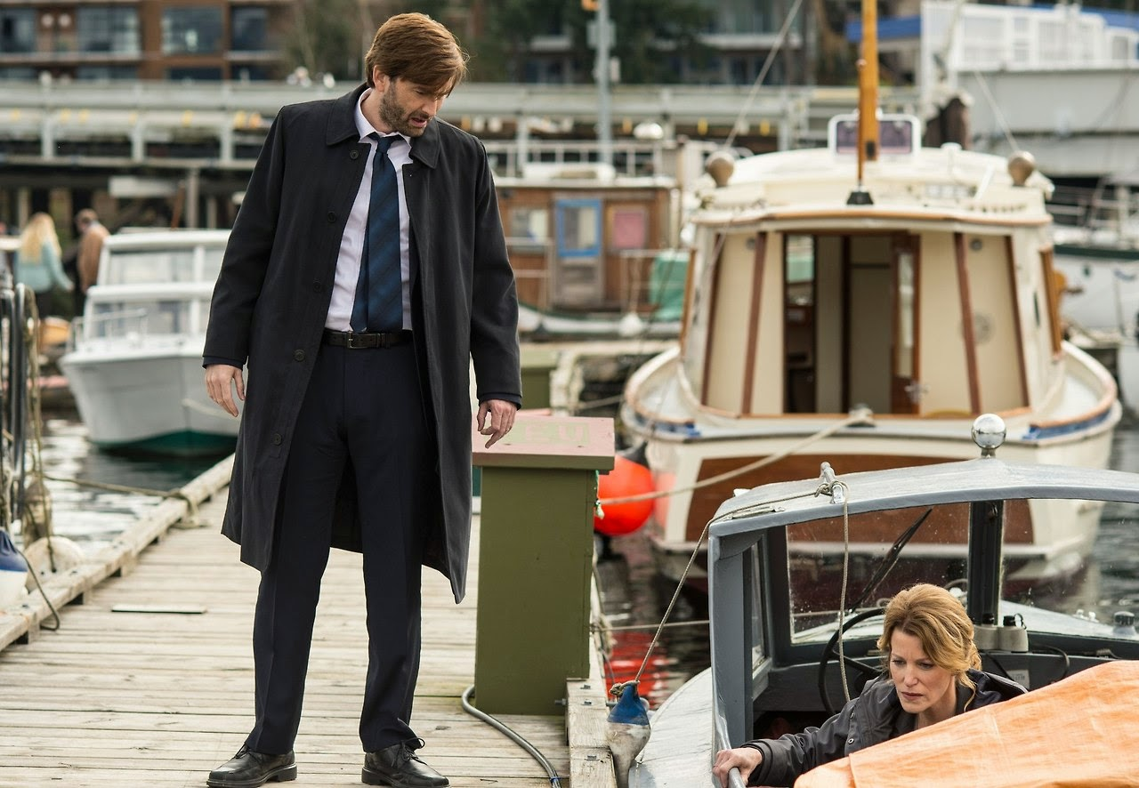 David Tennant in Gracepoint Episode Three