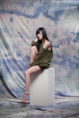 Casual-Hwang-Mi-Hee-very cute asian girl-girlcute4u.blogspot.com