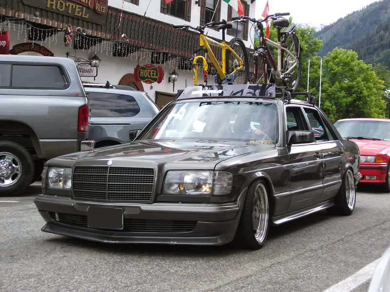 Foto Modifikasi Mercedes Benz W126