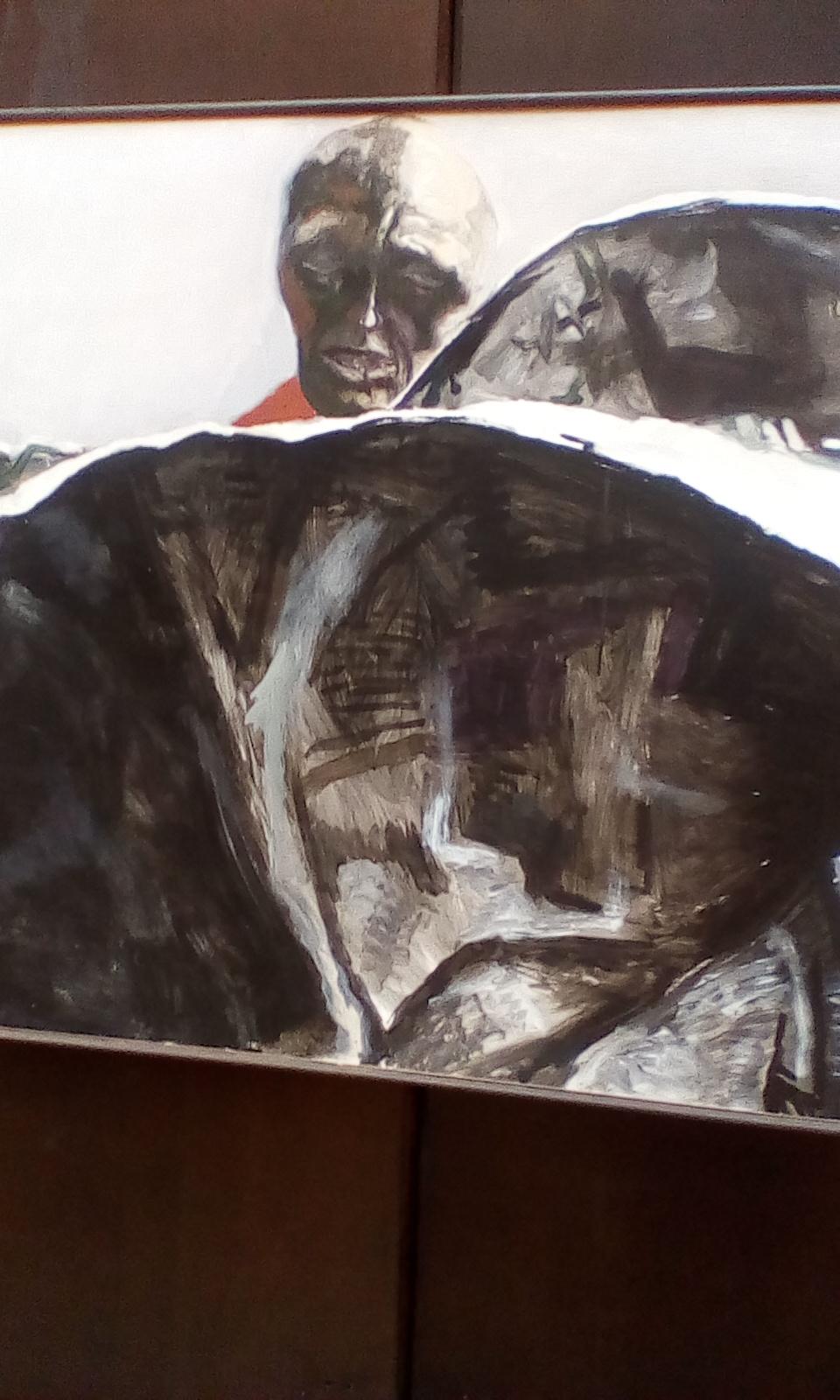 Renoto Gutuso.A sicilian Picasso on sofia m.g.