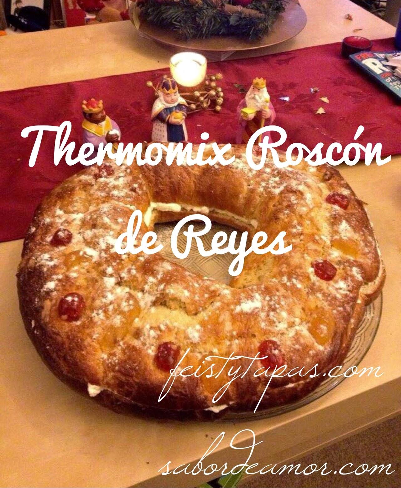 Thermomix Roscón de Reyes