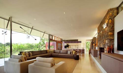 architecture Yallingup Residence living