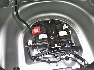 2012 Chevy Carmaro Battery Location