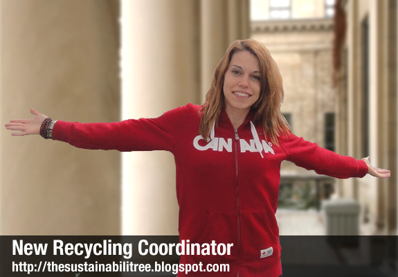 The University of Ottawa has a new Recycling Coordinator, Julie Cook, and she has some tips about her first living waste free challenge.