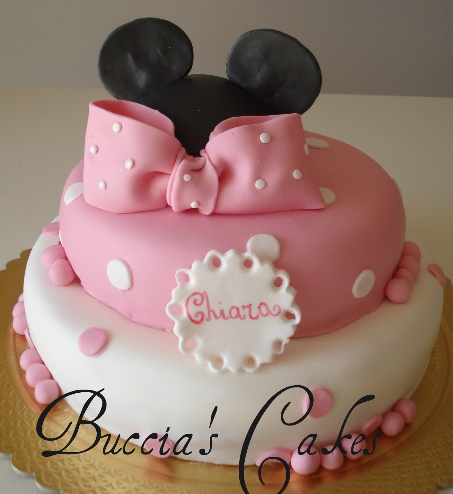 Favoloso Buccia's Cakes: Torta Minnie XY29