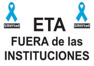 ETA fuera de las instituciones