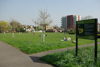 Slade Gardens in Vassall Ward SW9