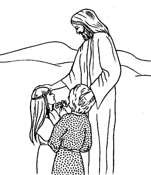 Free Coloring Pages : Printable Free Christian Coloring Pages