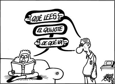 Quijote,Cervantes,Mariló,Forges
