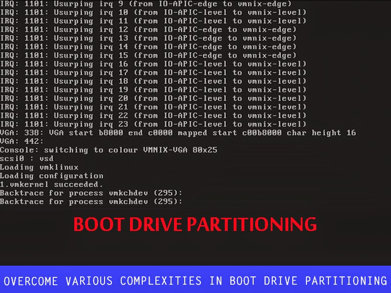 How to Overcome Various Complexities in Boot Drive Partitioning