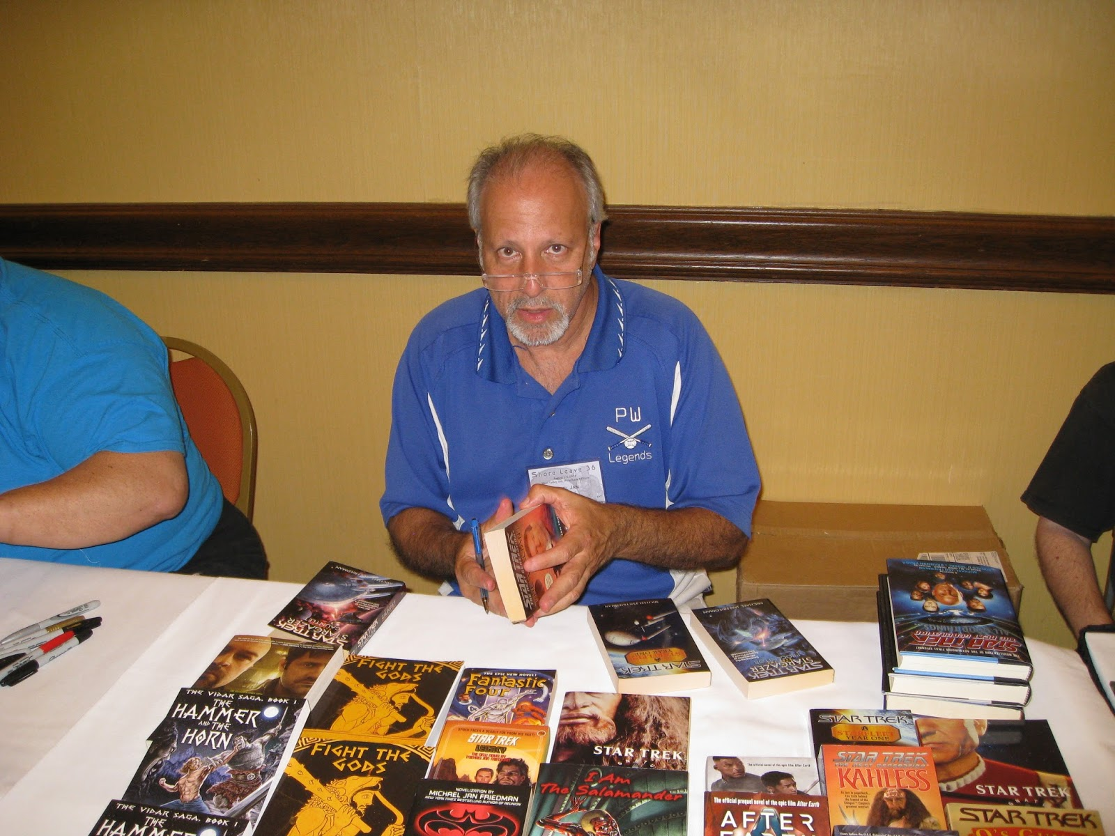 Michael Jan Friedman, Author